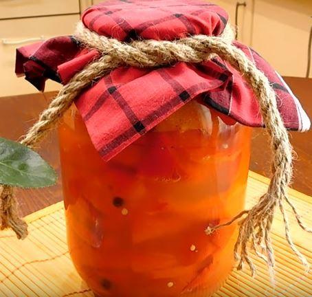 перец маринованный на зиму с медом