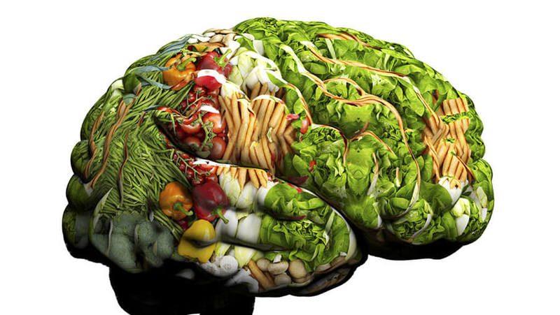 мозг и травы